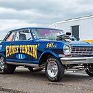 Chevy Nova Gasser by Stephen Liptrot
