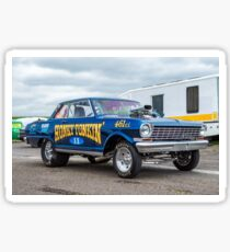 Chevy Nova Gasser Sticker