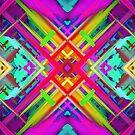 Colorful digital art splashing G475 by MEDUSA GraphicART