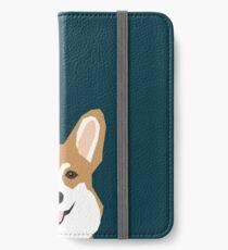 Teagan - Corgi Welsh Corgi gift phone case design for pet lovers and dog people iPhone Wallet/Case/Skin