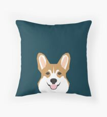 Teagan - Corgi Welsh Corgi gift phone case design for pet lovers and dog people Throw Pillow
