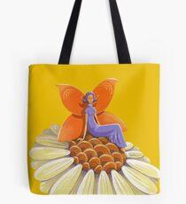 Singing Camomile Fairy Tote Bag