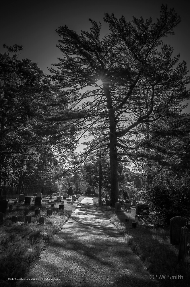 Cemetery - One Way Street | Center Moriches, New York by © Sophie W. Smith