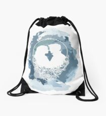 Captainswan watercolour Drawstring Bag