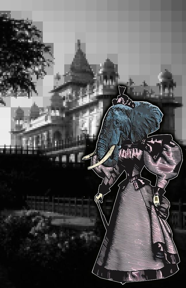 Elephant Princess by djzombie