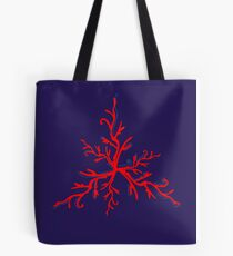 RED CORAL MARE VINTAGE COLLECTION Tote Bag