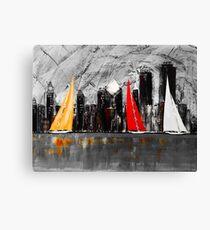 A Chicago Sail Canvas Print