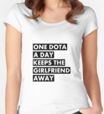 One Dota a Day... Women's Fitted Scoop T-Shirt