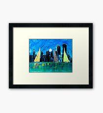 A Chicago Sail Framed Print