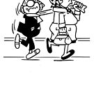 Andy Capp and Wife by red-rawlo