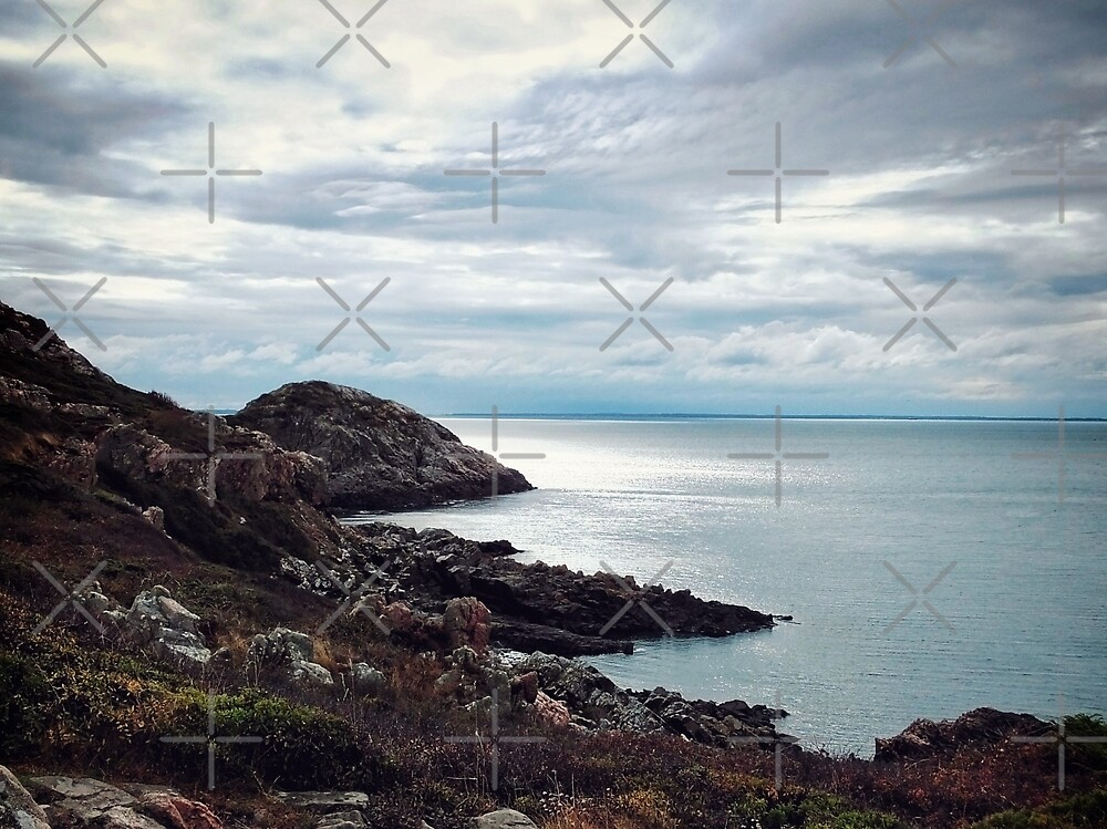 Rocky Cliffs by Karen Stahlros
