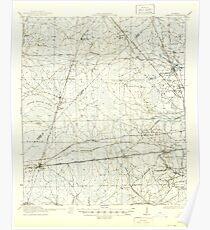 USGS TOPO Map Florida FL Cambon 345382 1918 62500 Poster