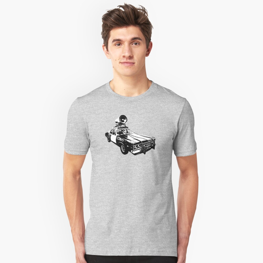 The Bluesmobile Unisex T-Shirt Front