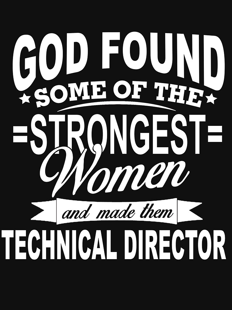 TECHNICAL DIRECTOR GOD FOUD by millerose
