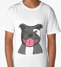 Pit Bull Puppy Long T-Shirt