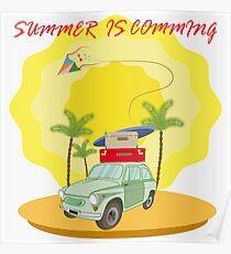 Las vacaciones de verano. Poster