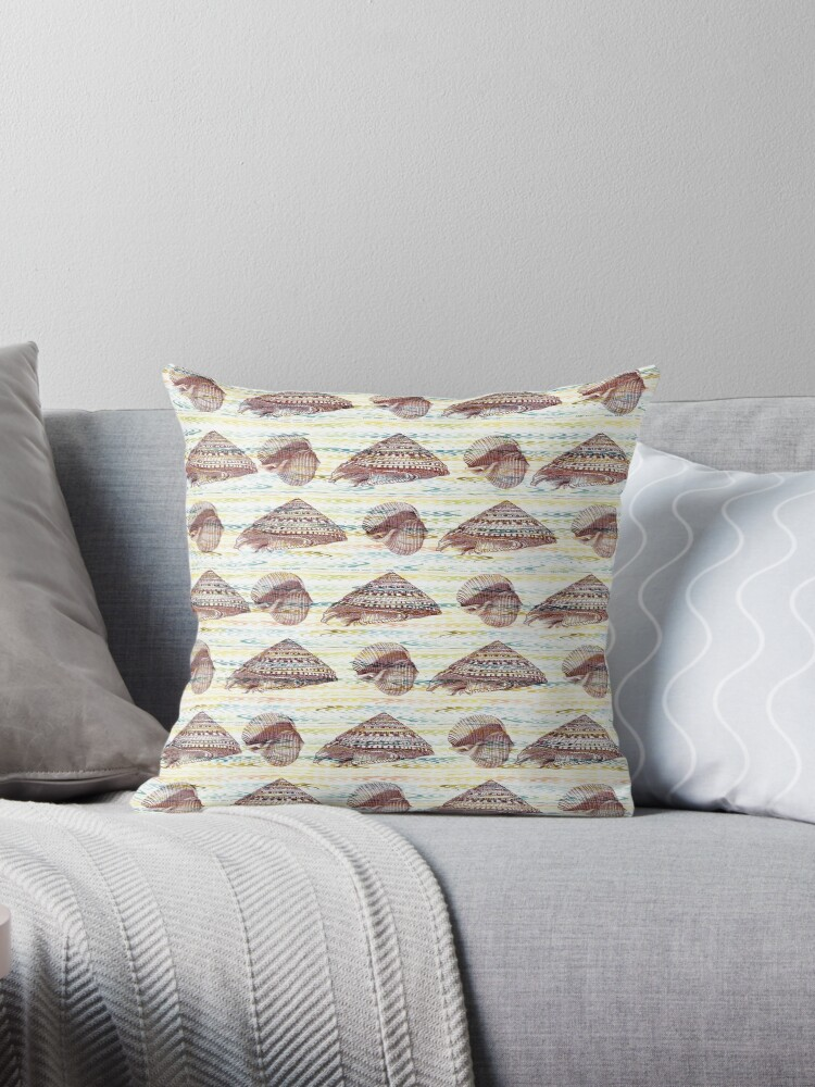 Vintage Seashells Pattern by oursunnycdays