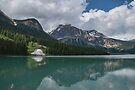 Emerald Lake, Alberta, Canada by Gerda Grice