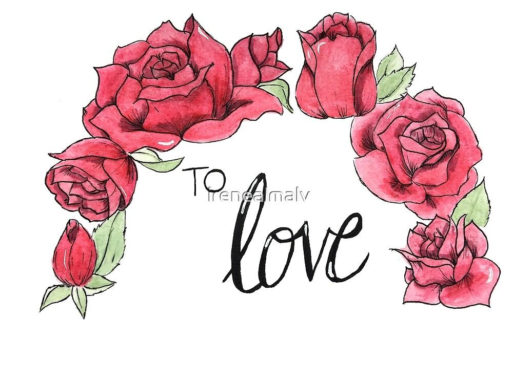 To love by irenealmalv