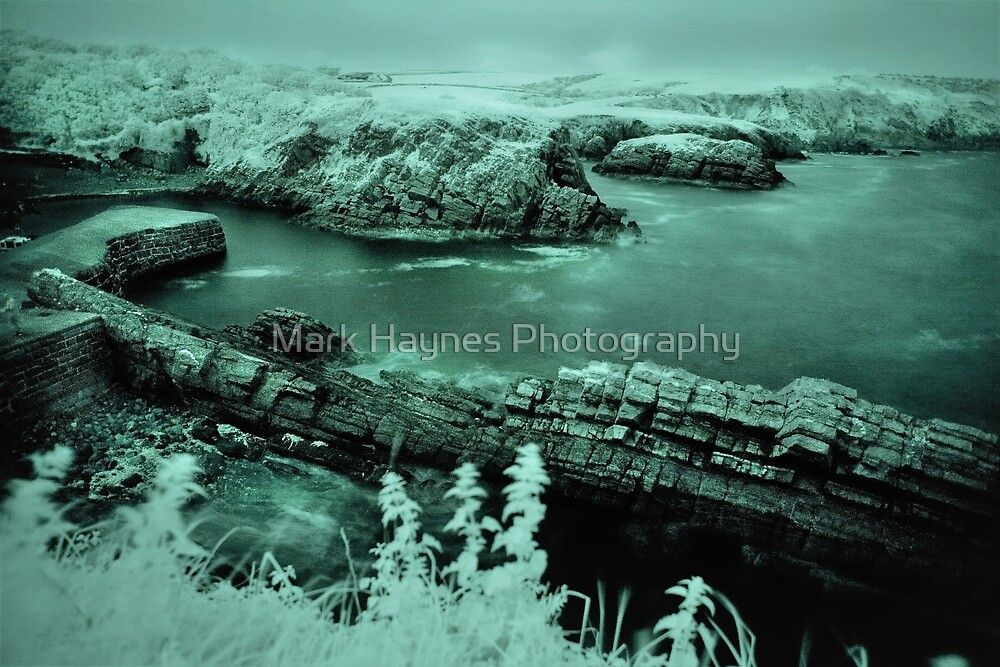 Stackpole Quay - Infra Red. by Mark Haynes Photography