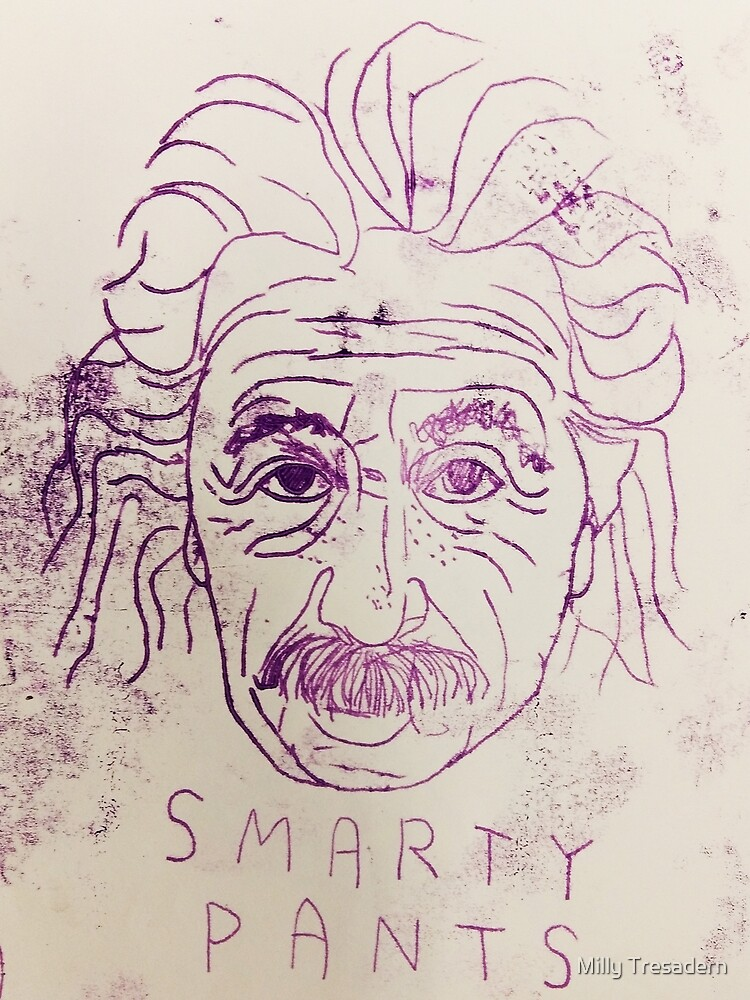 SMARTYPANTS MONOPRINT by Milly Tresadern