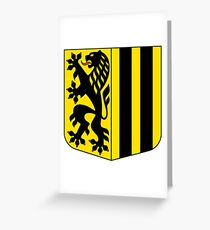 Dresden coat of arms Greeting Card