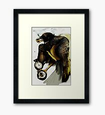 Thief of Time Framed Print