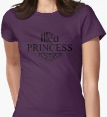 illea princess v1 Womens Fitted T-Shirt