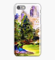 Afternoon in Central Park iPhone Case/Skin