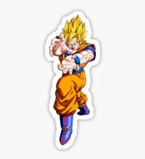 dragonball super saiyan goku Sticker