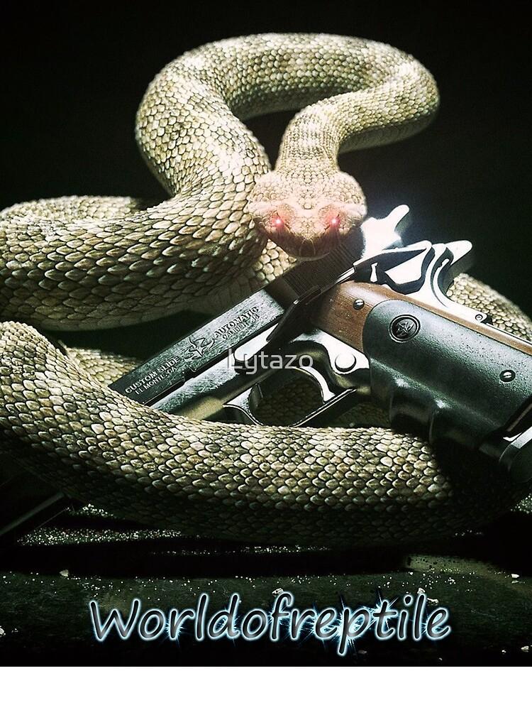 SnakeOneBlack by Lytazo