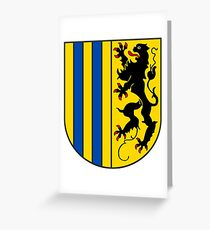 Chemnitz coat of arms Greeting Card