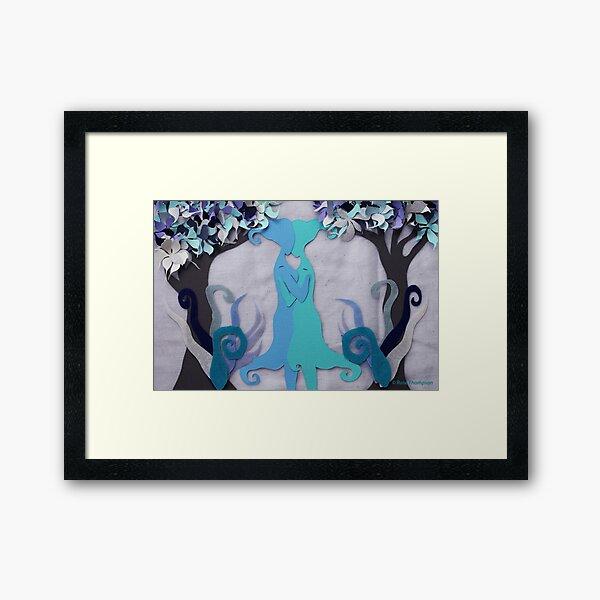 Winter Kiss #2 Framed Art Print