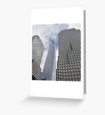 Freedom Tower New York City Greeting Card