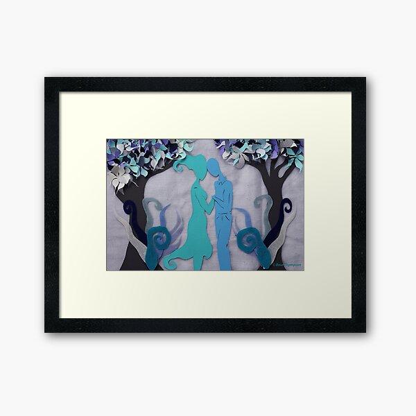 Winter Kiss #3 Framed Art Print