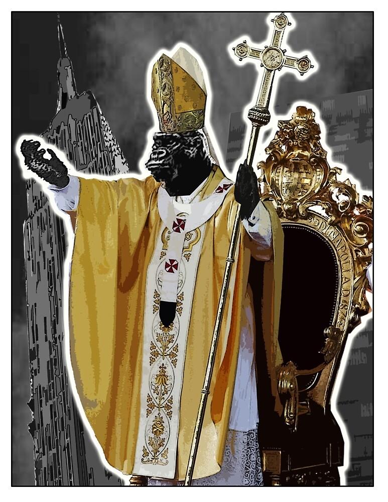 Pope Kong by djzombie