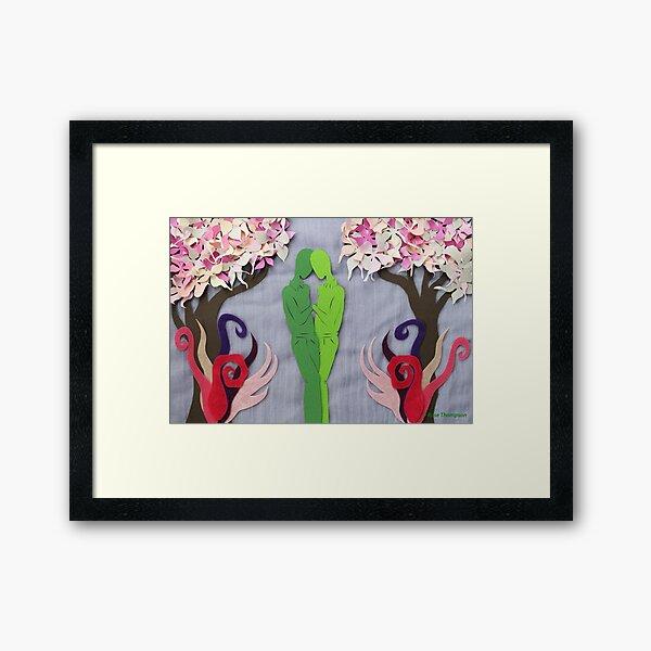Spring Kiss #1 Framed Art Print