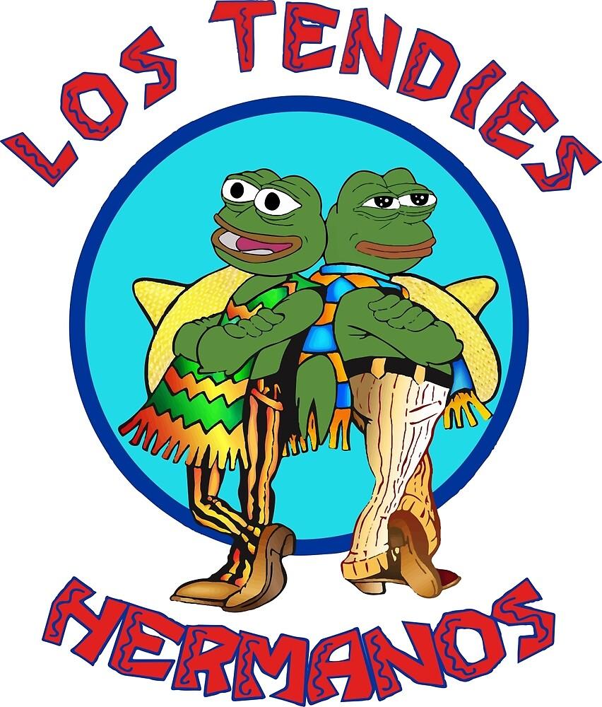 Los Tendies Hermanos (Pepe the Frog - Breaking Bad) by LeyoShop