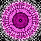 Pink Abstract by Sam Will