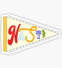 Nasty Girls Represent Sticker