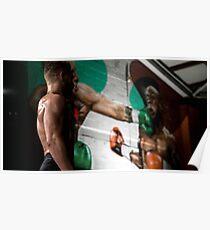 Conor McGregor KO Floyd Mayweather Canvus Poster