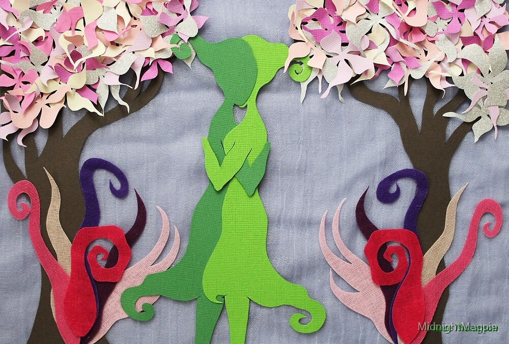 Spring Kiss #2 by MidnightMagpie
