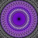 Purple Abstract by Sam Will