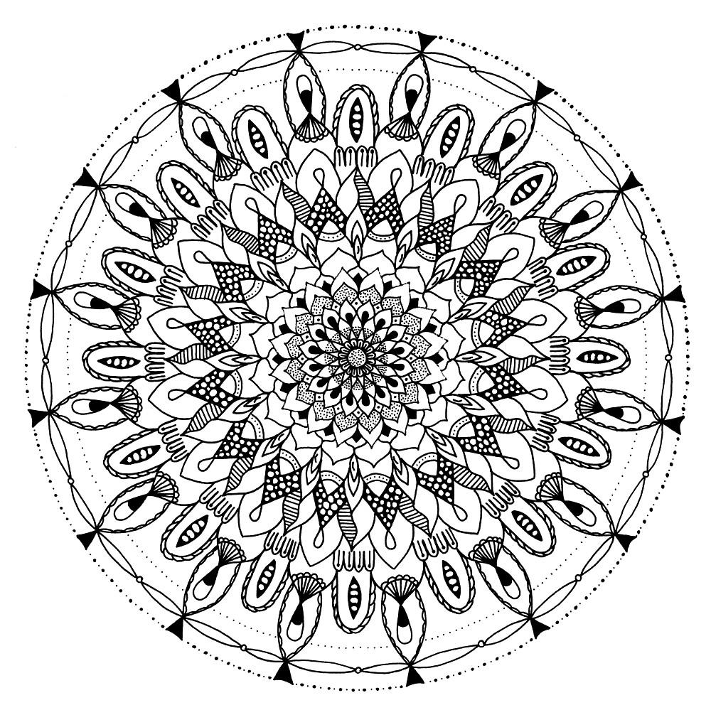 Mandala2 by Lady Alhambra