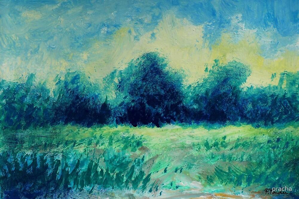 Green Landscape by pracha