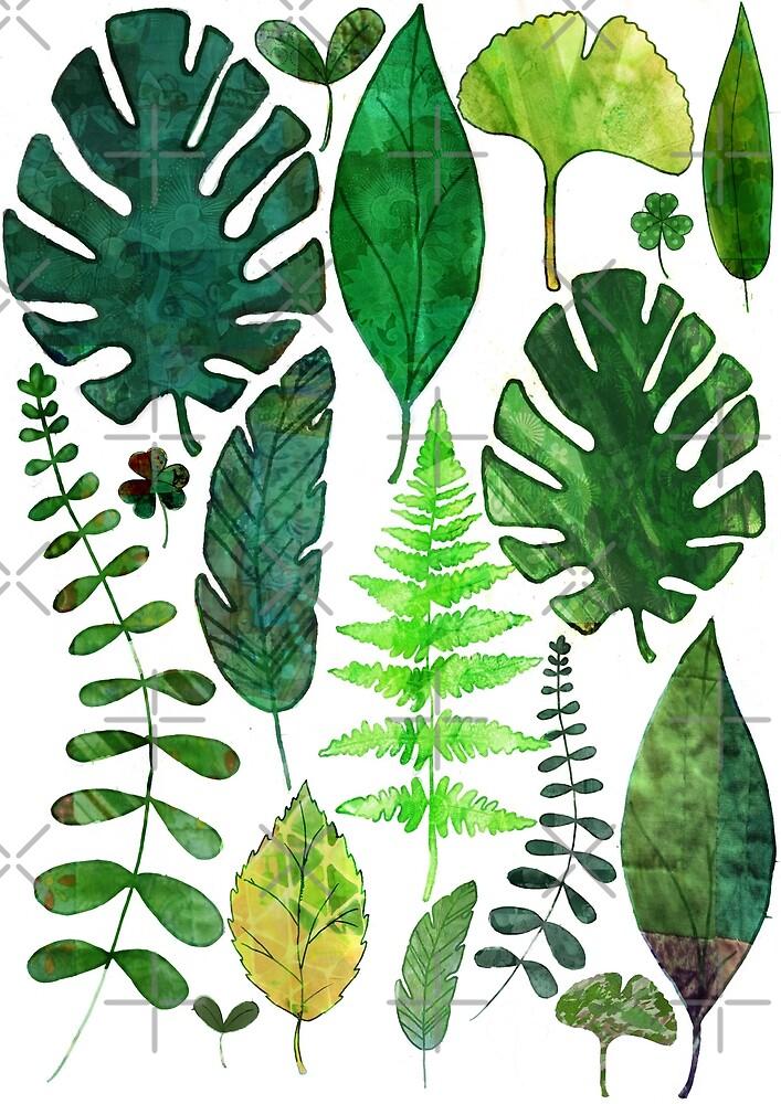 Leaves by katherineblower
