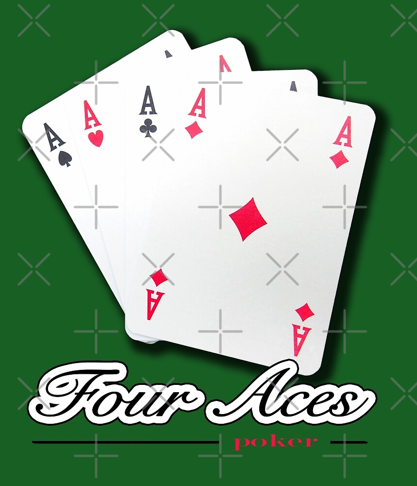 Poker of Aces - Four Aces by Giuseppe 23 Esposito