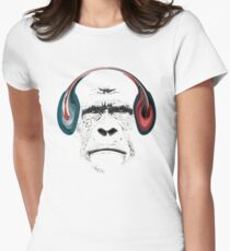 Grilla Womens Fitted T-Shirt