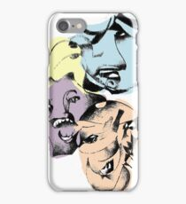 FACE ETCHING iPhone Case/Skin