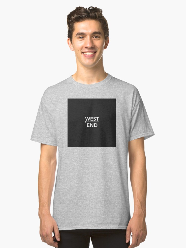 West End Drake T-Shirt Classic T-Shirt Front
